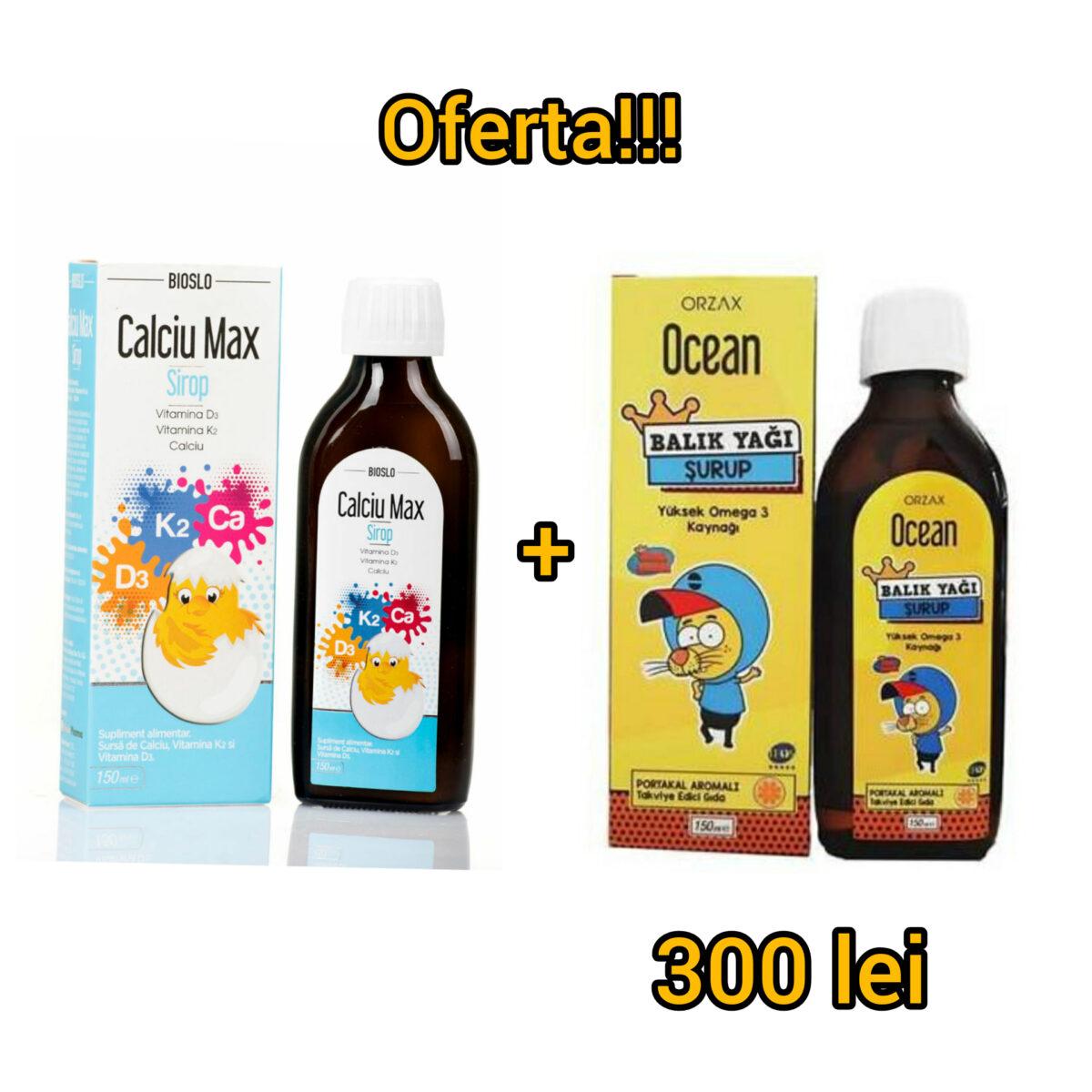 CAlciu+D3+Vit. K2 +Omega 3